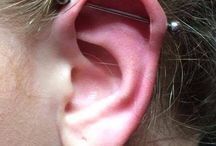 Scaffold/Industrial Piercings