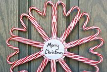 Christmas wreath / Candy cane