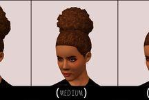 {Sims 3} Natural Hair