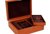 Jewellery Boxes / Luxury leather jewellery boxes