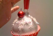 Muffin karácsonyi díszek