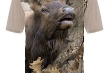 Elk T-shrts / Show your passion & extraordinary fashion! Cover your body with cutting edge 3D Bugling Elk t-shirt by HILLMAN®. Explore all 40+ iconic wildlife designs to show your passion and extraordinary fashion!