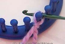 Loom Patterns / loom knitting, rainbow looms etc