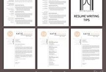 Modern & Creative RESUME TEMPLATES -- ( k a t i e  b r o w n ) / Land your dream job today with these clean, modern, creative & professional RESUME TEMPLATES with matching cover letter, references, thank you letter, further icons and bonus resume writing tips! Welcome in my shop on Etsy! MY PAPER PIG