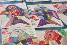 Art Projects ages 2-6 / Sample art projects from our Little Stars! (ages 2-3) and Act it Out! (ages 3-6) classes