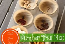 Preschool Math / Math activities for preschoolers.  Learning numbers, counting, sorting, and patterning.
