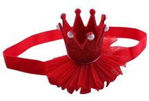 Christmas red tree party elf fairy baby