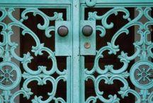 portas, janelas e outras aberturas! / by Lizete Lemos
