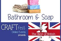 #CRAFTfest - Bathroom & Soap Category - Sept 2016 / International sellers with stalls in the Bathroom & Soap category of the September #CRAFTfest Event share with us their creations. http://www.craftfest-events.com/uk-events.html and http://www.craftfest-events.com/pride-of-america-form.html