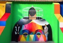Стрит-арт / Стрит-арт, street art, уличное искусство, художники, искусство