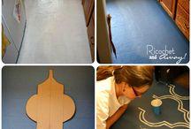 Kitchen & Bathroom floor project