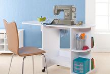 Crafting room organization