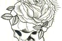 Sara fabel drawing and ink