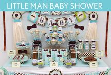 Little Man/Gentleman Baby Shower Planning / by Emily Hsu