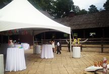 Ol' Fashioned Hoedown in a Refurbished Barn / Friend gets married at Jefferson Patterson Park & Museum