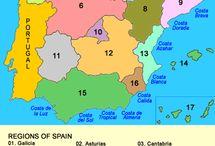 Spania / Interessante steder i Spania