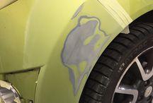Honor Autoschade - Spotrepair / Het herstellen van kleine reparaties.  Meer info ? 017 - 42 15 15