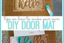 Come On In / The best decor for the front entryway of your home.