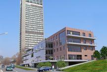 Projekt Mlynská Dolina / Moodboard pre budúce kancelárie v Mlynskej Doline.