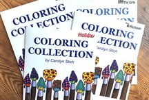 Carolyn Stich Coloring Books