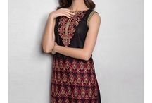 Tanzaib Kurti Shalwar Collection 2016 by Shaista Textiles