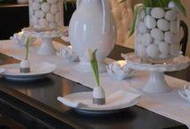 stół świateczny Wielkanoc