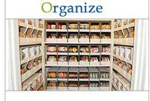 CLUTTER HELP~organizational aides / by RhondaSue Wickerham