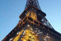 Paris Eifel love / Romantic city