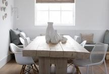 Moodbord woonkamer / De plannen voor de woonkamer