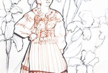 FetchArtSketch / Agata Kujda drawings