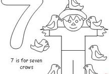 Scarecrow Early Learning Ideas / Find these Scarecrow Printables and more at www.makinglearningfun.com!  / by Jo Kramer