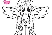 01 my little pony coloring sheets