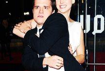 Joshifer / Josh Hutcherson and  Jennifer Lawrence