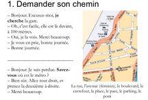 Francouzština -popis cesty