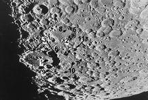 la luna e i suoi crateri