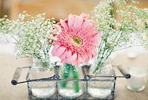 decoración de boda con flores / flores de boda - ideas de decoración de boda decoración original de boda con flores Diana Feldhaus wedding planner