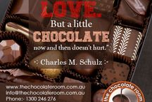 Chocolate Quotes / Follow us at @chocolateroomau
