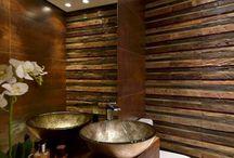 decoração lavabos