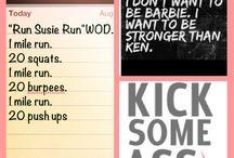 Track/Running WODS