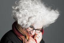 Silvergrey  by Beate Knappe photography / Start 05 - 2014 - Dies ist mein Portrait Projekt für das ich 50 Frauen suche, die bereits silbergraues Haar haben. This is my portrait project and I am looking for 50 women who have silver hair. / by Beate Knappe Photography