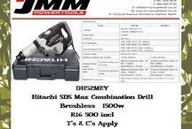 Hitachi BRUSHLESS Combination Drill