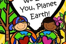 Earth Day (Every Day) Theme / This is a collection of Earth Day themed resources for your preschool, pre-K and Kindergarten aged children, to use both at school and at home. Make hands-on, interactive learning games and activities with these creative free, and low-cost printable pages.
