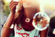 Blowing Bubbles and Balloons / by Aisha Cuartela