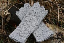 Hæklet - Tørklæder, handsker osv