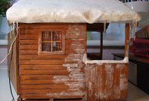 Sneeuw en ijspegels
