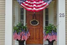 Patriotic House Decorations