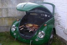 Grillplatz Auto