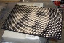 Pixel portret