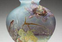 secesní vázy