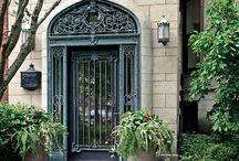 Gateways - Amazing Iron / Some of my favorite ironwork doors, windows, and gates.
